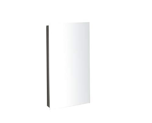 Clickbasin Corner Mirror Bathroom Cabinet With Single Door 600mm x 300mm REIMS