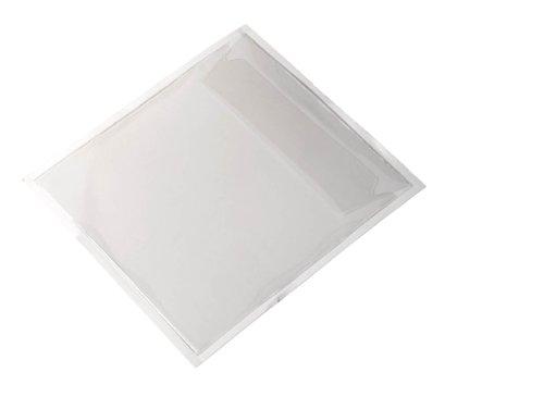 Durable 828019 Selbstklebetasche Pocketfix CD/DVD, Packung à 100 Stück transparent