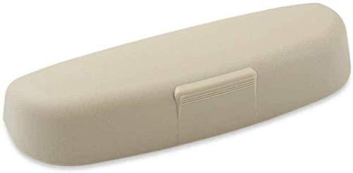 ZHAOHAOSC Custodia per Occhiali per Interni per Auto Custodia per Occhiali da Sole Accessori per Scatola per Occhiali, per Volvo S40 S60 S80 S90 S40 XC60 XC90 V40 V60 V90 C30 XC40 XC70 V70-Beige