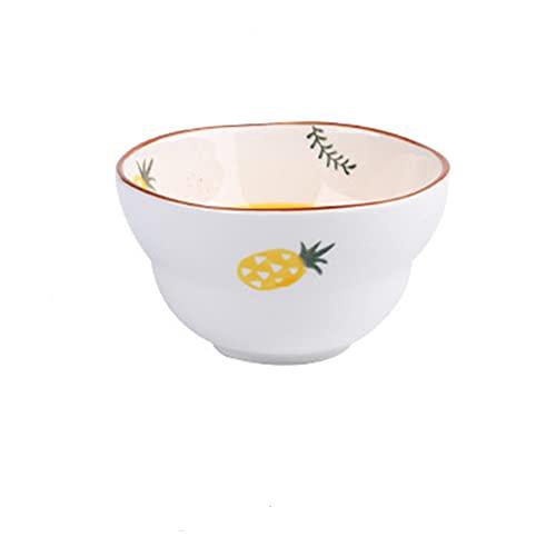 KJSWEI Cerámico Cerámico Cerámica Cerámica Japonés Estilo Japonés Color Pintado Mano Vajilla Tazón de arroz Sopa Tazón Ramen Tazón Ensalada Cuenco Hogar,Stylea
