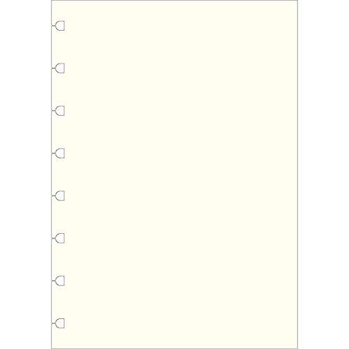 Filofax A5Uni Notes für nachfüllbar Notebook–Weiß