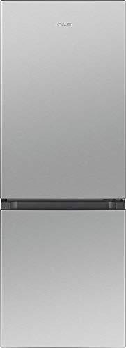 Bomann 732219 KG 322.1 / Kühl-/Gefrierkombination / 122LKühlen/53LGefrieren/156kWh/4Sterne-Gefrierfach/Edelstahl-Optik/inox
