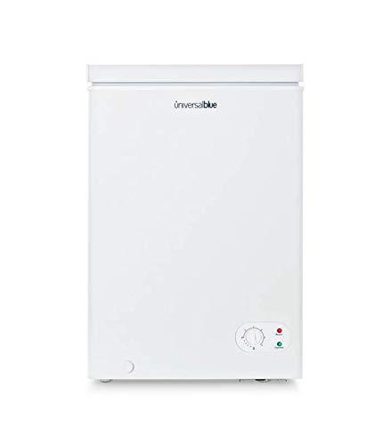 UNIVERSALBLUE - Congelador Dual - Volumen 100 litros - Congelador eficiencia energética A+ - Congelador Vertical - Congelador Arcón 2 en 1 -Clase de eficiencia energética A+