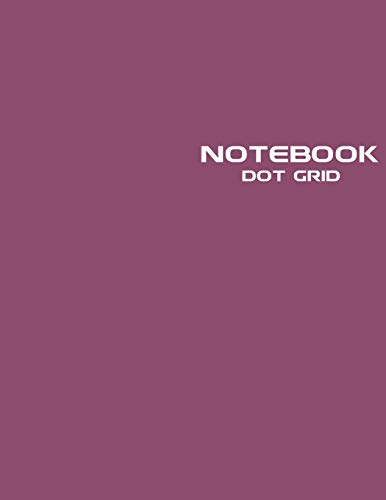 Dot Grid Notebook: Stylish Euphoric Magenta Notebook Journal, 120 Dotted Pages 8.5 x 11 inches Large Journal Paper | Softcover ( Younity Style -2021 ... Journal Sketchbook for Sketching, Drawing,