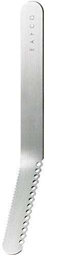 ヨシカワ日本製EAトCO(イイトコ)バターナイフNuluシルバーステンレス16×1.5×3.2cmAS0035