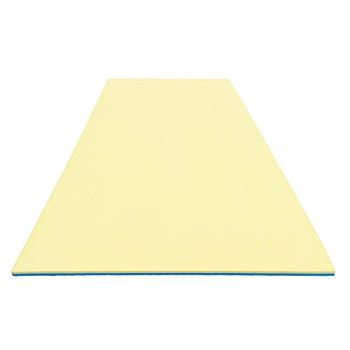 Comfy Floats 12 x 5 Foot No Inflate Dual Layer Tear Resistant High Density Foam...