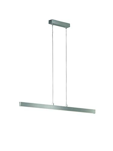 Fischer & Honsel Pendelleuchte 1x LED 24W aluminiumfarben matt, Acryl satiniert