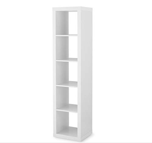 Better Homes and Gardens 5-Cube Organizer (5-Cube, White) (5-Cube, White)