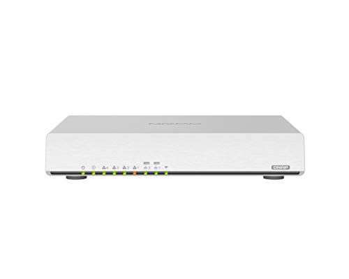 QNAP QHora-301W 2 X 10GbE and 4 x 1Gb LAN Ports, WiFi 6 AX3600 Fanless SD-WAN Router