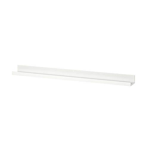My Stylo Collection Borde de cuadro, blanco, 115 cm, tamaño del producto: longitud: 115 cm, profundidad: 12 cm, carga máxima: 7,50 kg, materiales de tablero de fibras, lámina