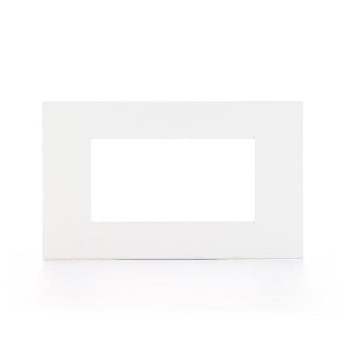 BTicino Livinglight Placca, 4 Moduli, Forma Rettangolare,...