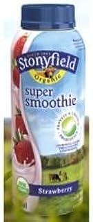Stonyfield Farm Organic Strawberry Yogurt Smoothie, 10 Ounce -- 12 per case.