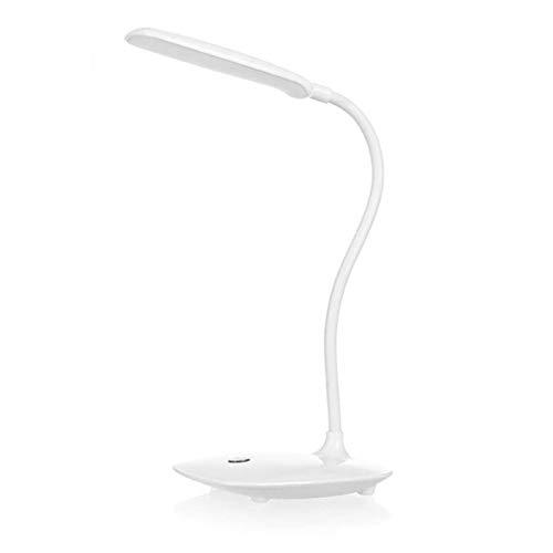 USB recargable LED lámpara de mesa de escritorio intensidad ajustable luz de lectura táctil interruptor lámpara de escritorio 3 modo lámpara de mesa-3 brillo