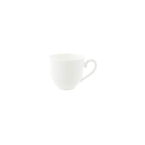 Villeroy und Boch Royal Mokka-/Espressotasse, 100 ml, Premium Bone Porzellan, Weiß