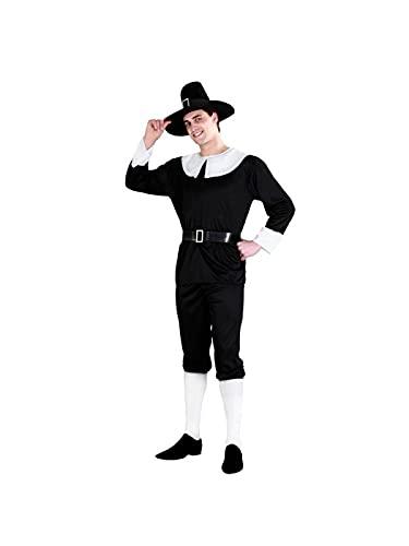 DISBACANAL Disfraz de puritano - M-L