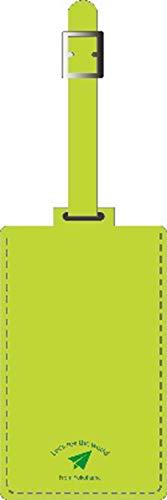 バンガード 旅行用品 ネームタグ スーツケースタグ おしゃれ 革 型押し フェイク レザー マスカット