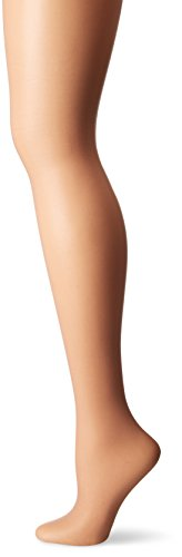 L'eggs Women's Silken Mist Control Top Sheer Toe Run Resist Silky Sheer Leg Panty Hose, Nude, B