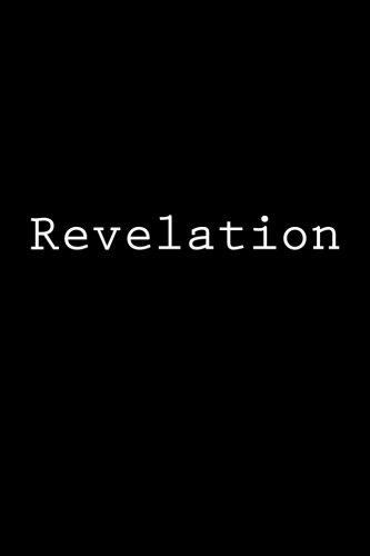 Download Revelation: Notebook, 150 Lined Pages, Glossy Softcover, 6 X 9 