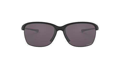 Product Image 1: Oakley Women's OO9191 Unstoppable Rectangular Sunglasses, Matte Black/Prizm Grey, 65 mm