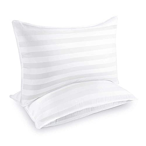 COZSINOOR Hotel Collection Pillows for Sleeping (2-Pack)- Luxury Down Alternative Pillow Breathable Premium Quality Cover(Queen Size)