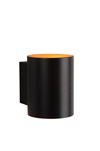 Lucide XERA - Applique Murale - Ø 8 cm - G9 - Noir