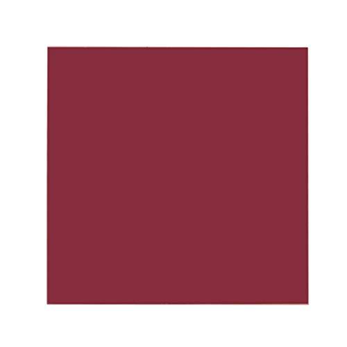 Rtengtunn 15 × 15 cm Plexiglasplatte Farbige Acrylfolie DIY Spielzeug Zubehör Modellbau - rot