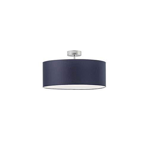 WENECJA fi - Lámpara de techo textil (30 cm), color azul marino
