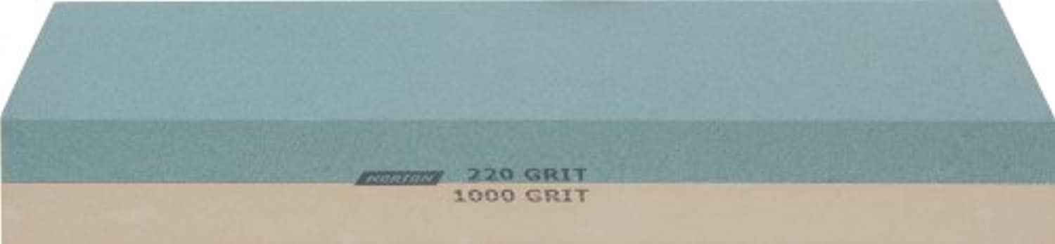 Norton 24335 Japanese-Style Combination Waterstone 220 1000 Grit, 8-Inch by 3-Inch by 1-Inch