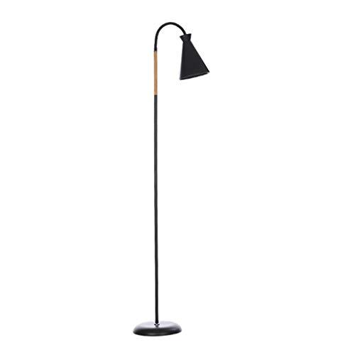ZGP-LED Luces de Piso Lámpara de pie Salón Dormitorio Sala de Estudio Moderna Simple Lectura nórdica LED Piso Vertical lámpara de Mesa de Control Remoto de atenuación Nivel de energía [A ++]