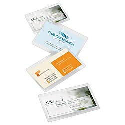 Office Depot Brand Laminating Pouches, Business Card Size, 5 Mil, 2.56