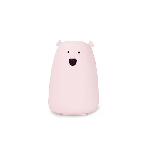 Little L – Luz nocturna Big Ours – Rosa – Silicona – OUROSE