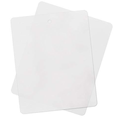 ASR Outdoor FCB-2110 Thin Flexible Kitchen Cutting Board Chopping Mat (10 Pack)