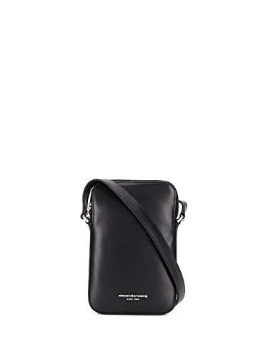 Alexander Wang Moda De Lujo Mujer 70C120R221001 Negro Cuero Bolso De Hombro | Primavera-verano 20