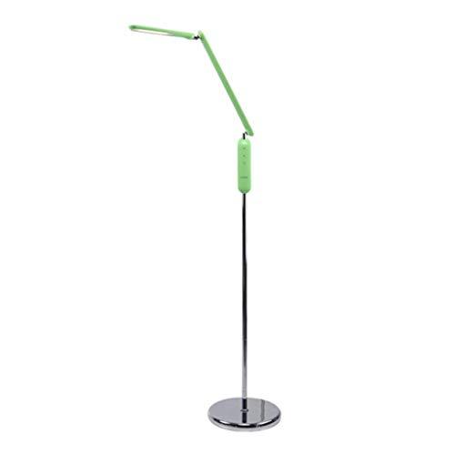 ZGP-LED Luces de piso Lámpara de pie LED moderna sala de estar minimalista dormitorio cabecera aprendizaje de los estudiantes de la lámpara lámpara de escritorio brazo largo Ulti nivel de atenuación N