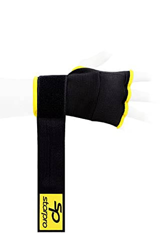 Starpro Guantes Interiores Boxeo con Envolturas de poliéster Tejido para Boxeo Sparring...