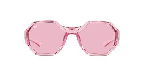 Ray-Ban 0RB4337 Gafas, Transparent Pink, 59 Unisex Adulto