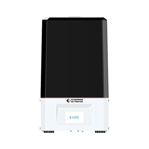 FLASHFORGE Stampante 3D Foto 8.9 Mono LCD MSLA 4K in resina con schermo LCD monocromatico 4K da 8,9 pollici, schermo touch da 3,5 pollici, volume di costruzione 7,5 x 4,7 x 7,87 pollici