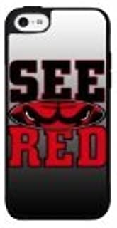 See Red Bulls Skin Protector Colorful Pattern Hard Back Case Cover Fit for iPhone 6 - 4.7Inches