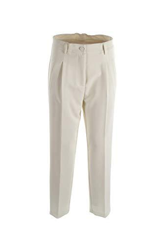 VICOLO Pantalone Donna M Bianco Tm0170 Autunno Inverno 2019/20
