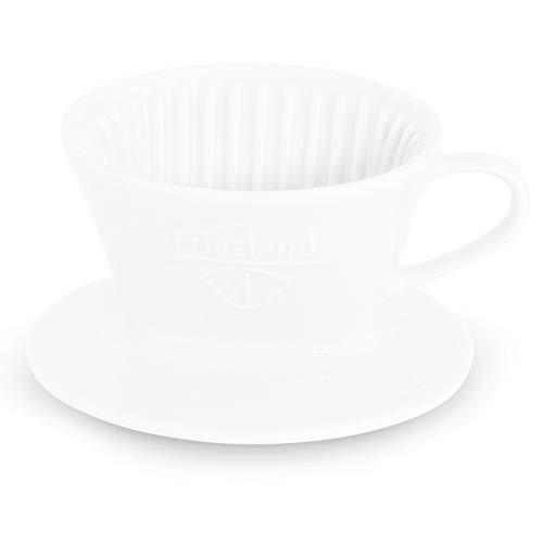 Friesland Tassenfilter Gr. 1 Weiß Porzellan