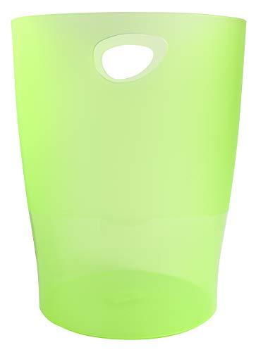 Exacompta 942061 - Papelera, color verde translucido