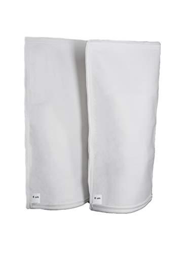 Bolsa filtrante para piscinas, 2 x 6 micras, compatible con piscinas Desjoyaux