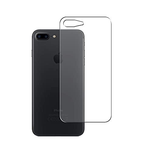 VacFun 2 Piezas Protector de pantalla Posterior, compatible con iPhone 7 plus / 8 Plus, Película de Trasera de TPU Skin Piel