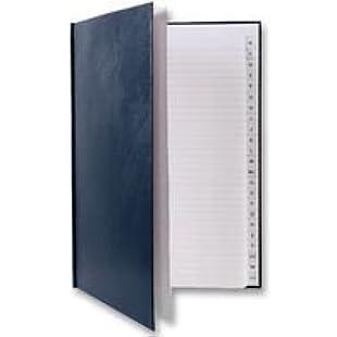 Inventive-Action Q CONNECT - KF01063 - MANUSCRIPT BOOK A4 INDEXED