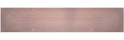 Hillman Hardware Essentials 852748 Sliding Window Lock, Aluminum, Kick Plate, Antique Bronze Finish, 8
