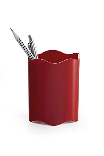 Durable 1701235080 Portabolígrafos Trend, 1 pieza, rojo opaco