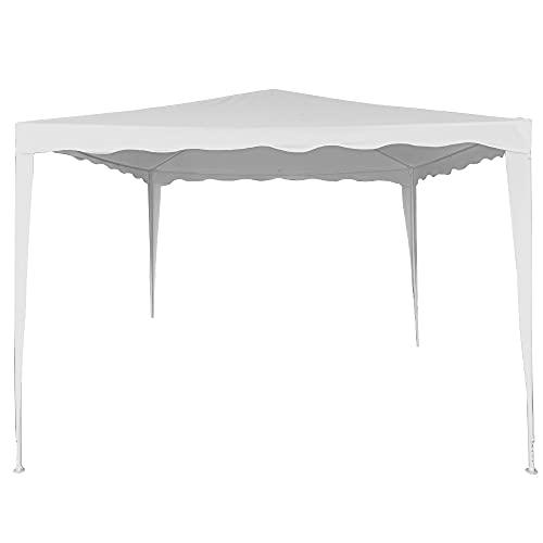 Aktive 62186 - Carpa plegable 3x3 m, Cenador plegable para jardín, 300x300x250...