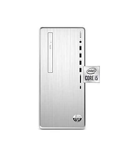 HP Pavilion Desktop, 10th Gen Intel Core i5-10400 Processor, 8 GB RAM, 512 GB SSD, Windows 10 Home (TP01-1050, Silver)