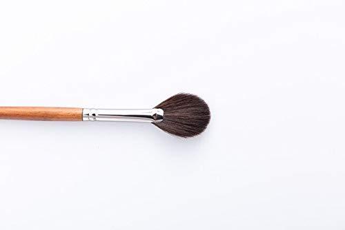 Pro High-End-Make-up-Kabuki-Puderpinsel, Lose/Kompaktpuder auftragen, weicher und Flauschiger Gesichts-Make-up-Pinsel zum Mischen von Rouge