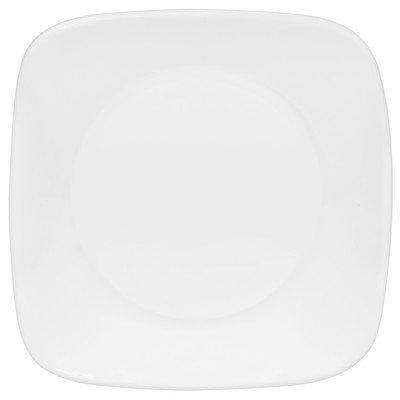 """Corelle Square Pure White 6.5"""" Plate [Set of 6]"""